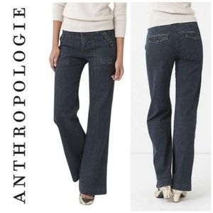 ANTHRO Daughters Of The Lib Patch Pocket Jean
